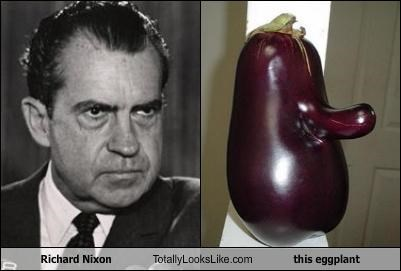 Richard Nixon Totally Looks Like This Eggplant