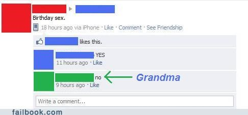 Grandma Isn't Down
