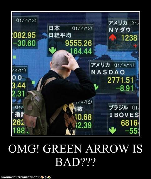 OMG! GREEN ARROW IS BAD???