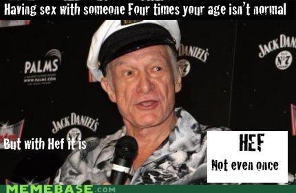 Hugh Hefner: Not Even Once
