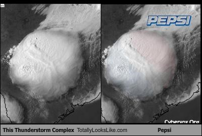 This Thunderstorm Complex Totally Looks Like Pepsi