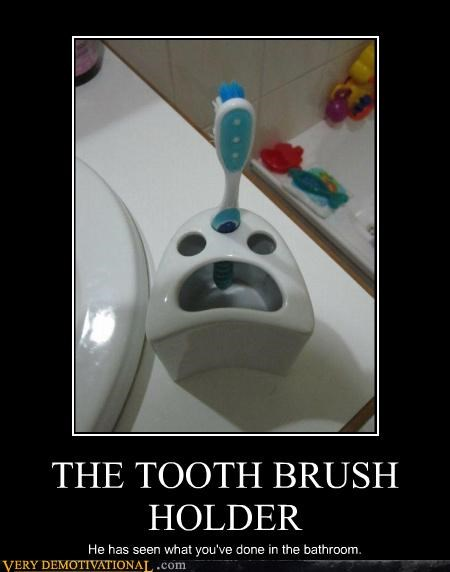 THE TOOTH BRUSH HOLDER