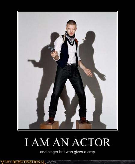 I AM AN ACTOR