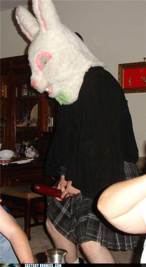 Naughty Celtic Easter Bunny