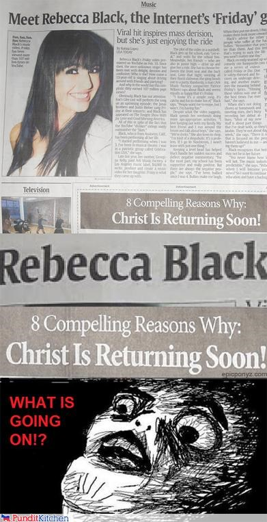 FRIDAY,political pictures,Rebecca Black