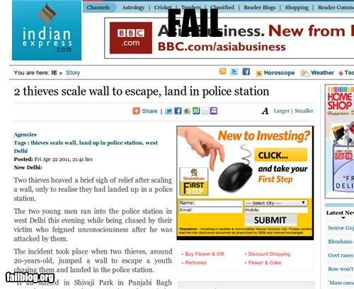 bad idea,escape,failboat,g rated,news,police station,Probably Bad New,walls