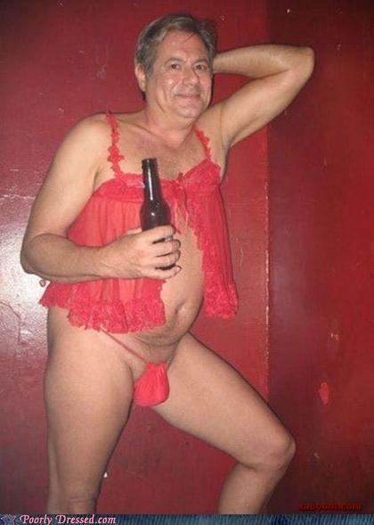 beer,cross,geriatric,revealing,thong