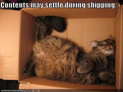Contents may settle during shipping.