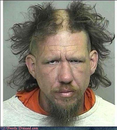 bad hair,fashion police,mohwak,mugshot