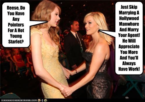 actor,celeb,funny,Music,Reese Witherspoon,taylor swift