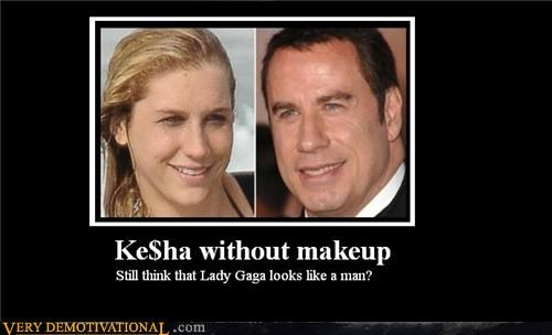 KE$HA WITHOUT MAKEUP