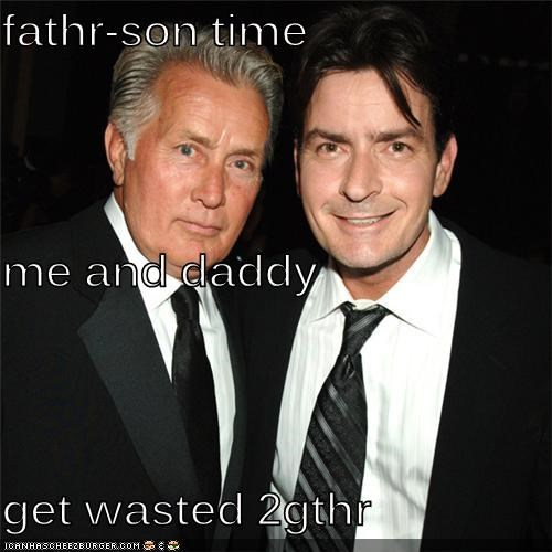 fathr-son time me and daddy get wasted 2gthr