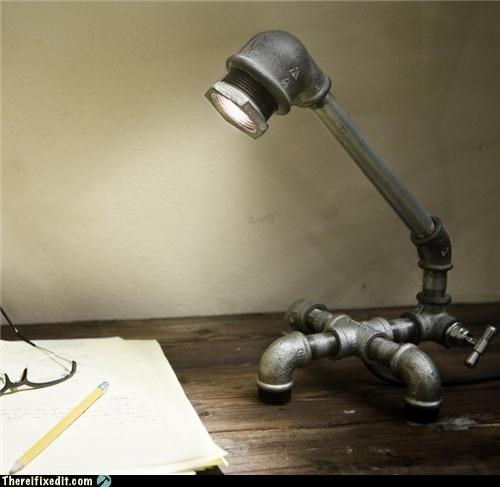 art,clever,lamp,not a kludge