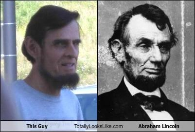 This Guy Totally Looks Like Abraham Lincoln