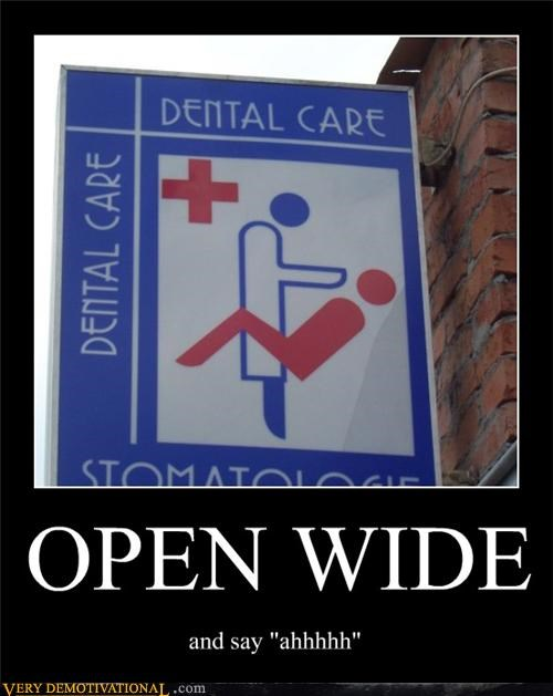 dentist,OPEN WIDE,sexy times