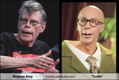 "Stephen King Totally Looks Like ""Turtle"""