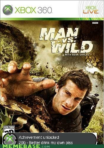 bear grylls,problem,the game,video games,you lose