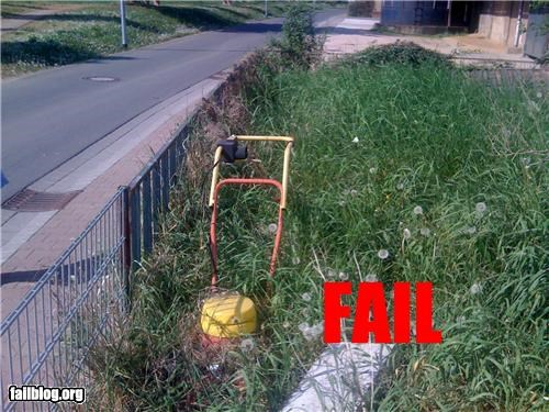 Mower FAIL