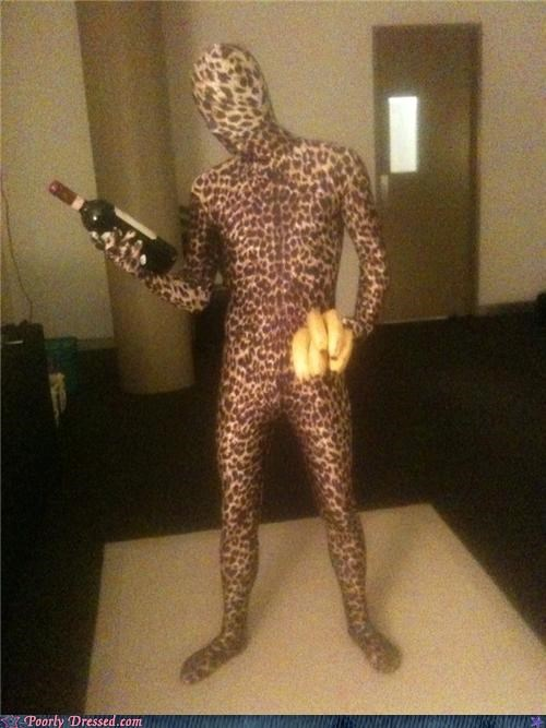 bananas,morphsuit,prosthetic,testingzone,zentai
