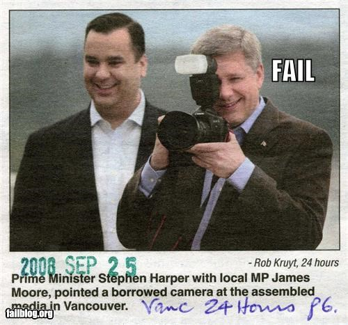 Stephen Harper FAIL