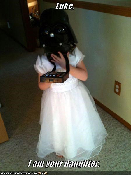 Luke,  I am your daughter.