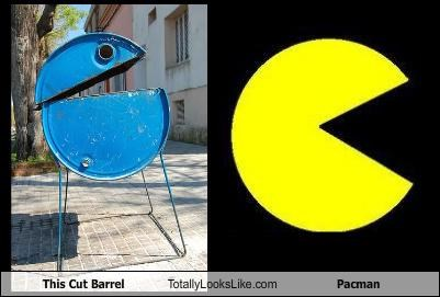 This Cut Barrel Totally Looks Like Pacman