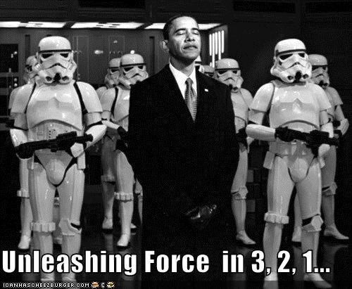 Unleashing Force  in 3, 2, 1...