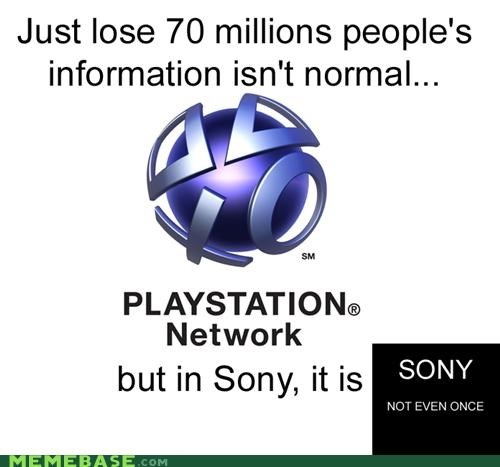 Sony: Not Even Once