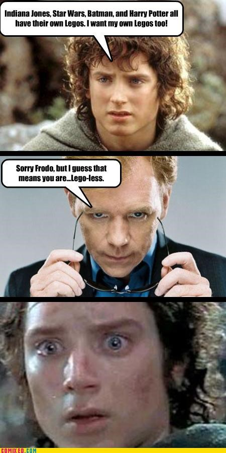 Frodo Still Wants His Lego Deal...