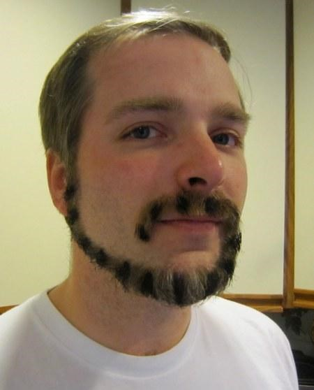 Unfortunate Facial Hair of the Day