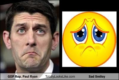 GOP Rep. Paul Ryan Totally Looks Like Sad Smiley