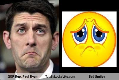 Congress,GOP,paul ryan,politicians,Republicans,Sad,smilies,tears