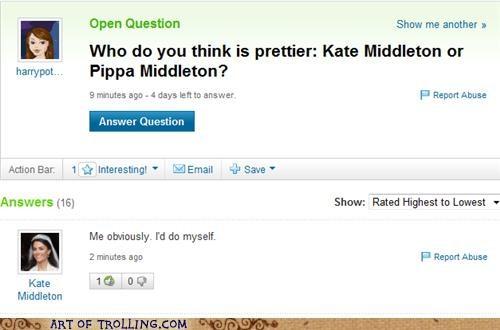kate,middleton,pippa,royal family,Yahoo Answer Fails