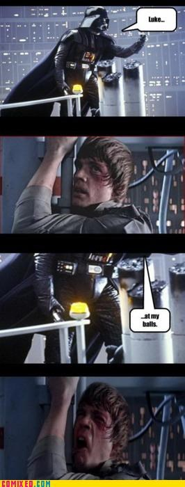 No, Don't Luke at That!