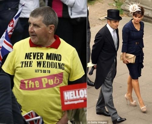 Royal Wedding Attendees of the Day