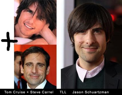 Tom Cruise + Steve Carell Totally Looks Like Jason Schwartzman