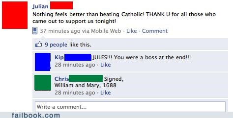 Puritans Love Beating Catholics