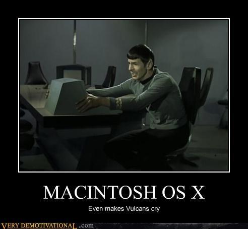 mac,PC,Spock,Star Trek,Vulcan