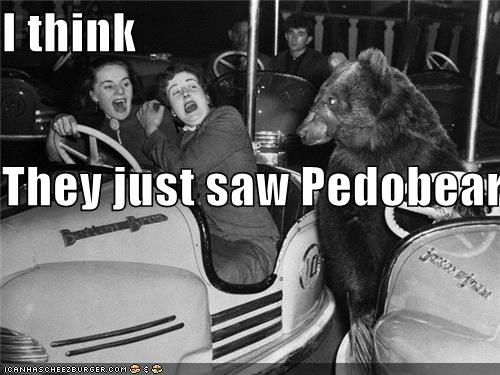 I think They just saw Pedobear
