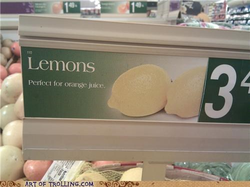 Classic: When Life Gives You Lemons...