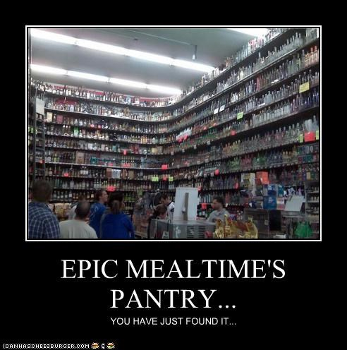 EPIC MEALTIME'S PANTRY...