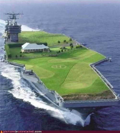 aircraft carrier,golf,Sad,wtf
