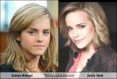 Emma Watson Totally Looks Like Emily Hirst