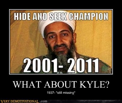 WHAT ABOUT KYLE?