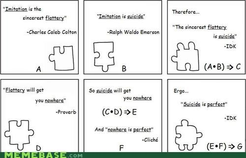 Troll Science: Suicide Logic