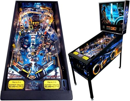 Tron Legacy Pinball Machine of the Day