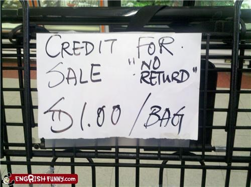 credit,sale,turd