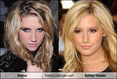 Ke$ha Totally Looks Like Ashley Tisdale
