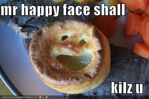 mr happy face shall   kilz u