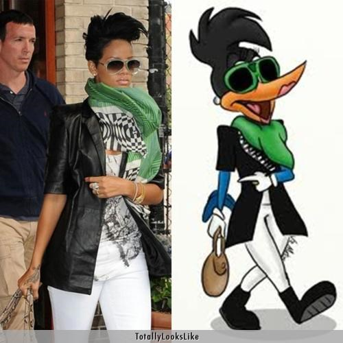 Rihanna Totally Looks Like Rihanna-fied Winnie Woodpecker